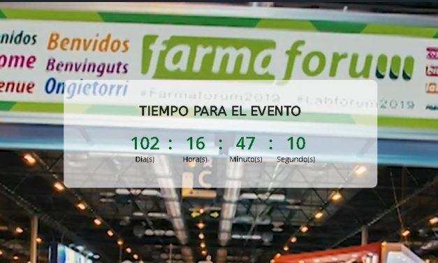FARMAFORUM 2020 anuncia nuevas fechas los próximos 28 y 29 de octubre